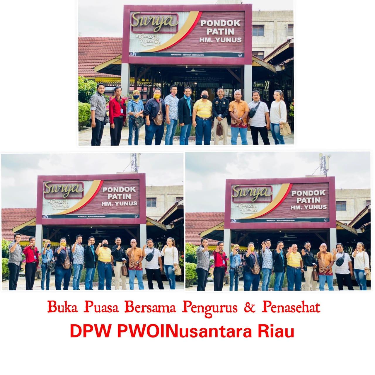 H.Yunus, Penasehat DPW PWOINusantara Riau Ajak Buka Puasa Bersama di Pondok Patin