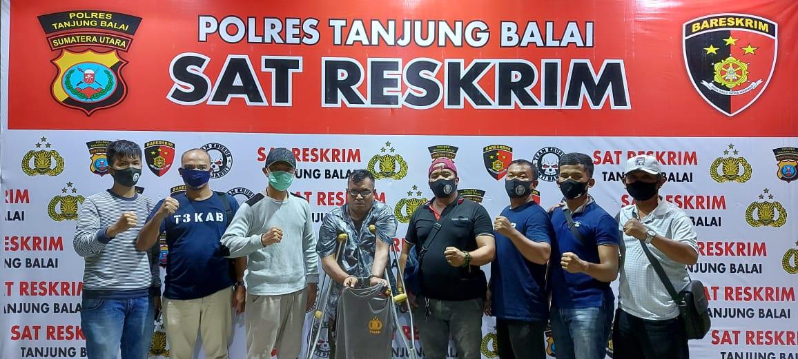 Gelapkan Honda Beat di Tanjung Balai, Napi Asimilasi Ditembak di Medan