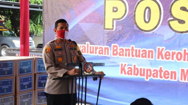 Sebanyak 399 warga Kabupaten Majalengka Mendapatkan Bantuan Kerohiman dari Kementrian Pariwisata dan Ekonomi Kreatif Republik Indonesia