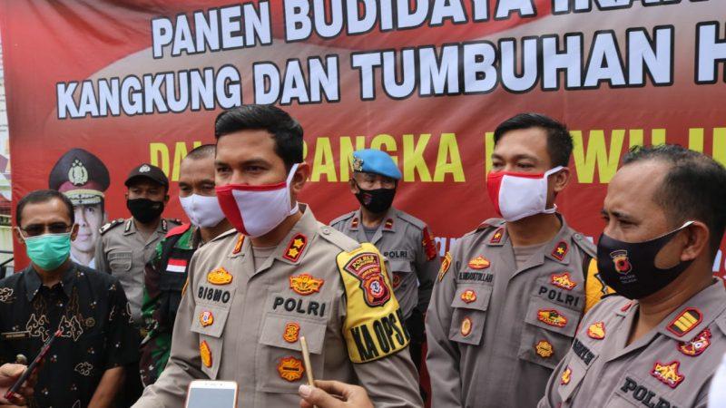 Polres Majalengka Melaksanakan Program Budidaya Ikan Lele, Kangkung dan Tanaman Hidroponik