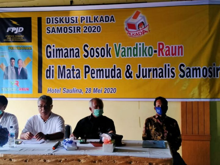 Bacalbup Samosir, Vandico Raun Jalin Komunikasi Kaum Milenial Bersama Jurnalis