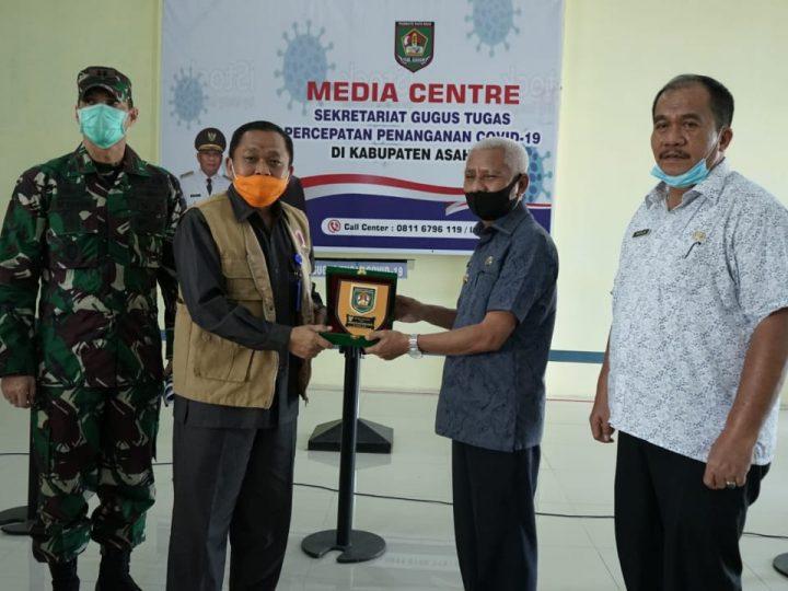 BNPB RI Kunker ke Gugus Tugas Covid-19 Asahan