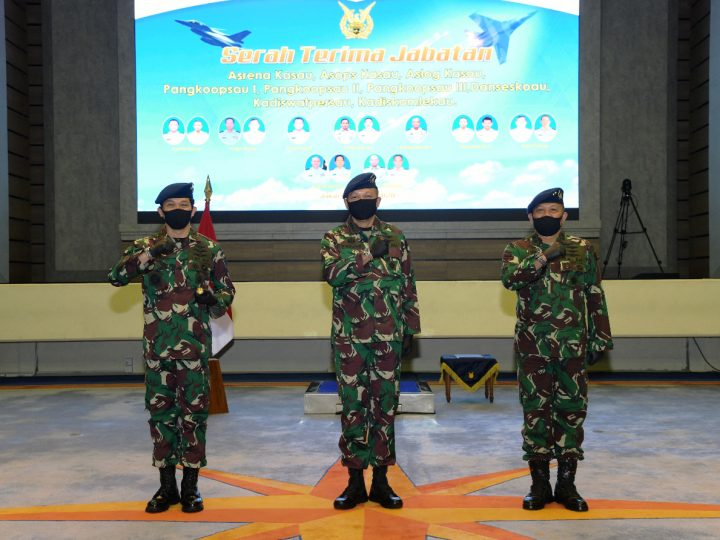 Marsma TNI Samsul Rizal, S.I.P., M.Tr (Han) Jabat Komandan Seskoau
