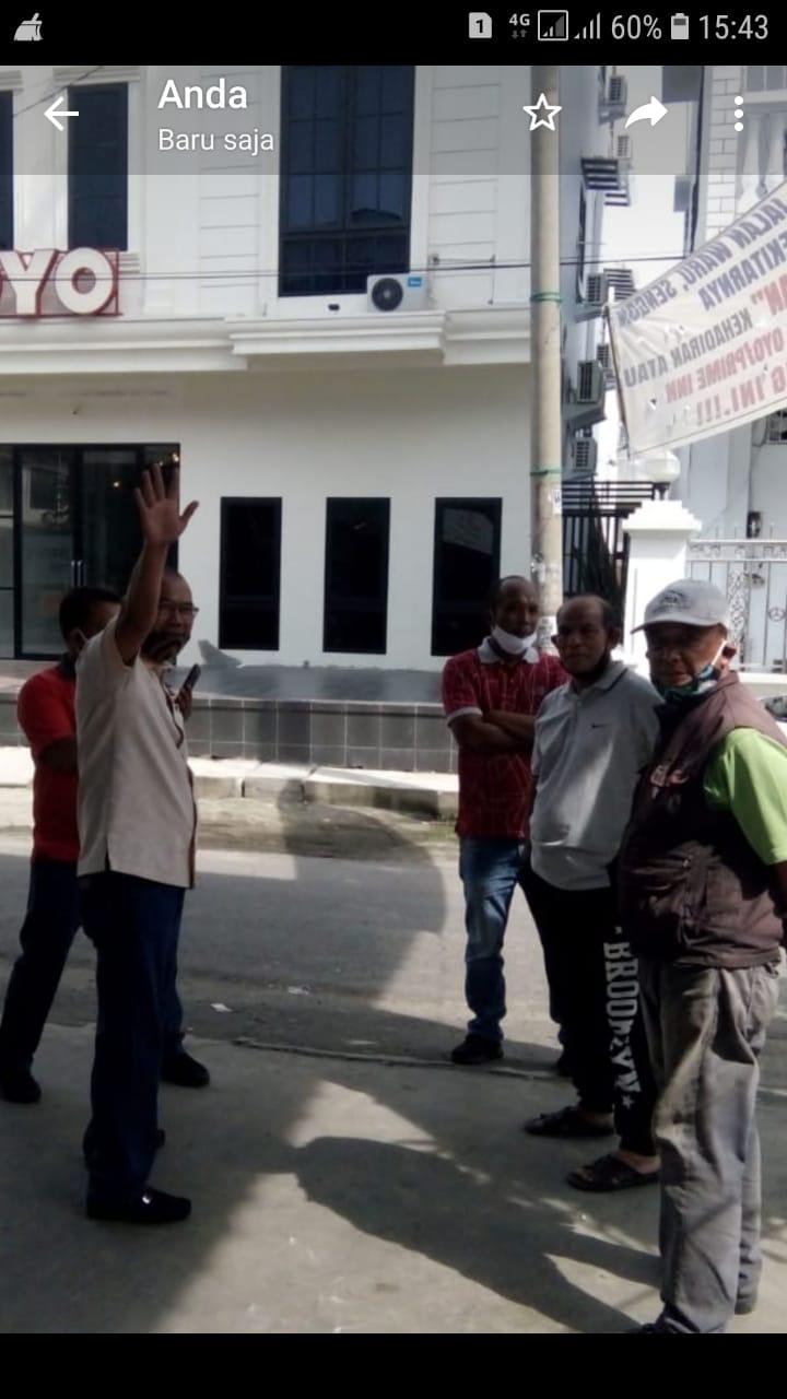 Antonius Tumanggor: Kita Tunggu Apa Tindakan Dinas Parwisata Terhadap Hotel 'O' Yang Sudah Bikin Resah Warga Jalan Waru/Sengon