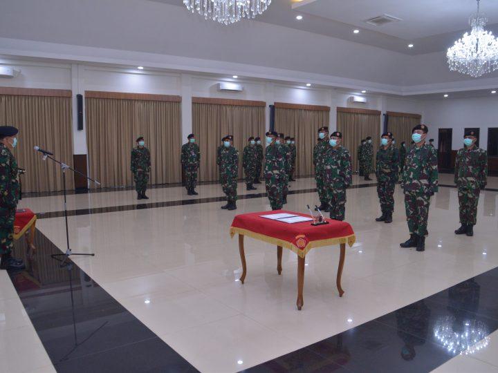 Kolonel Pnb Meka Yudanto,S.SOS.,M.A.P Resmi Jabat Pangkosek Hanudnas I