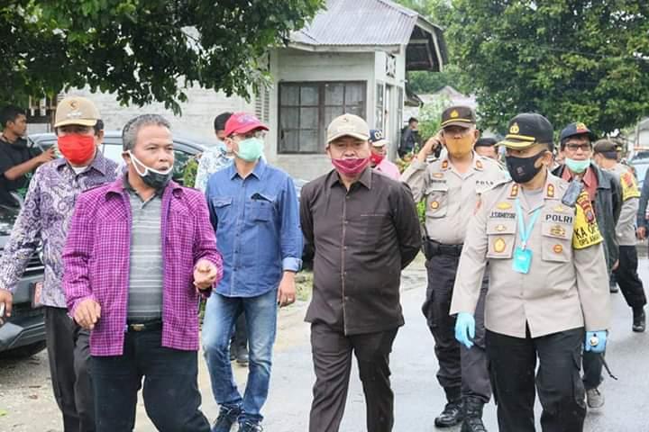 Bupati Taput Kunjungi Korban Bencana Alam Angin Puting Beliung
