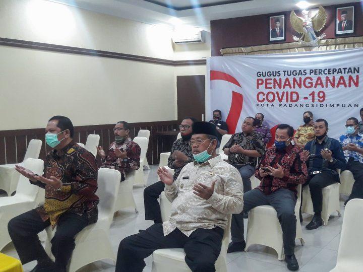 Pemko Padangsidimpuan Mengikuti Hari Lahir Pancasila Live Siaran TVRI