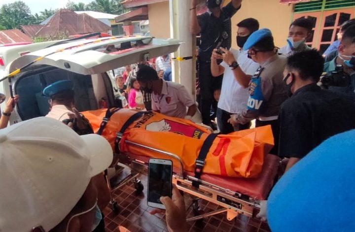 Diduga Bunuh Diri, Oknum Polisi Bertugas di Polres Tebing Tinggi Tewas Bersimbah Darah