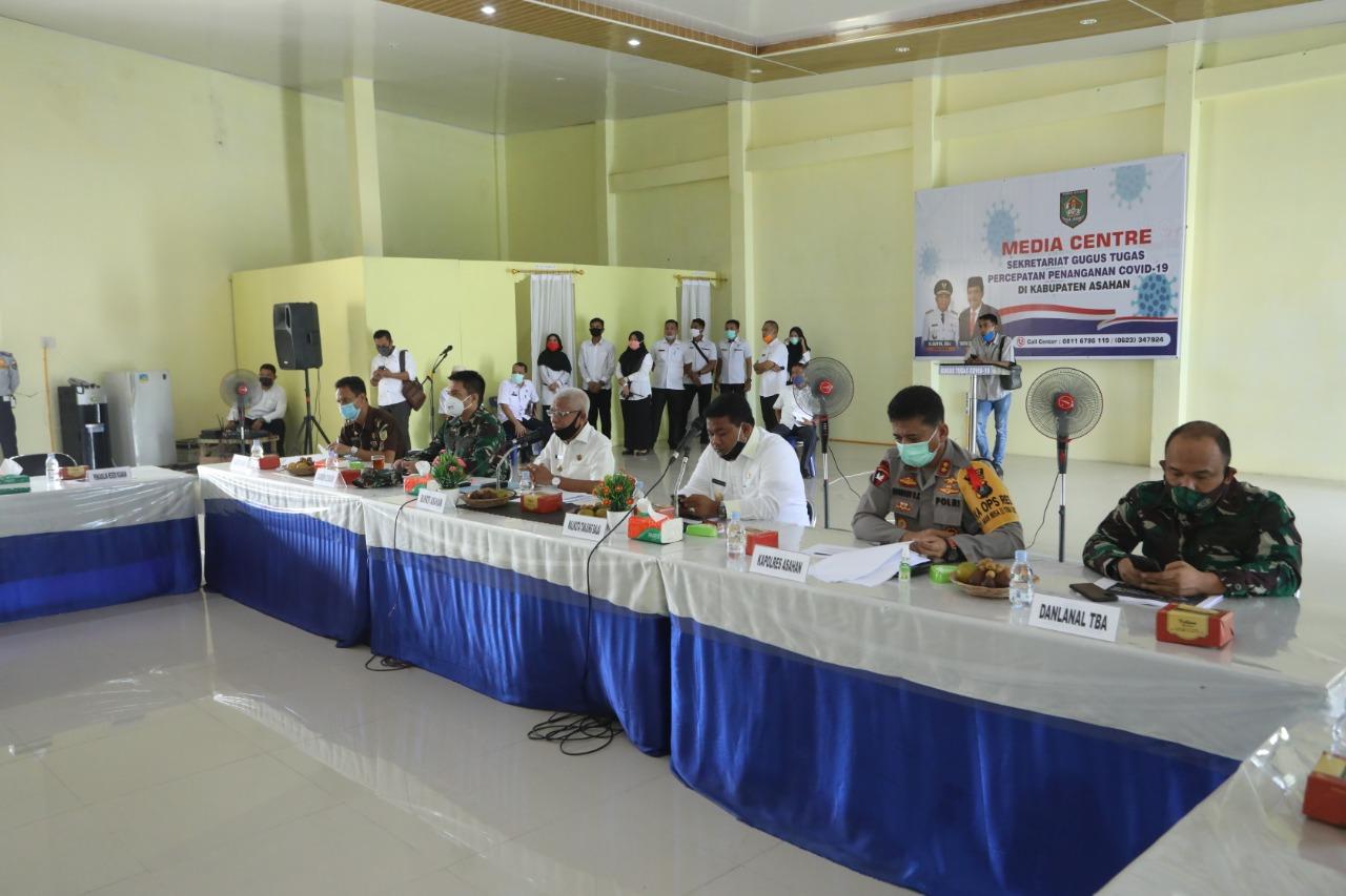 Gugus Tugas Covid-19 Asahan dan Tanjung Balai Rapat Bahas Pemulangan 184 TKI