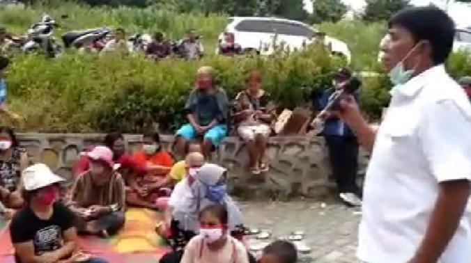 Wakil Bupati Samosir, Bersama Rap Ber Juang Lakukan Missi Kemanusiaan