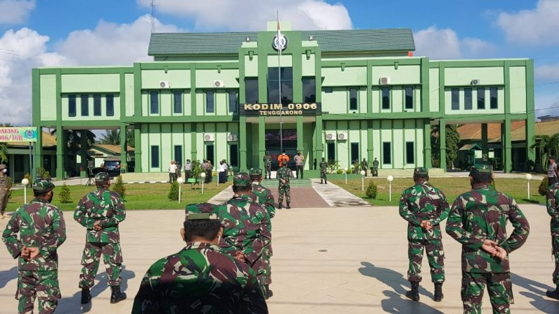 Kodim 0906 Tgr Bersama Kapolres Kukar Gelar Operasi Penegakan Disiplin TGF New Normal Covid-19