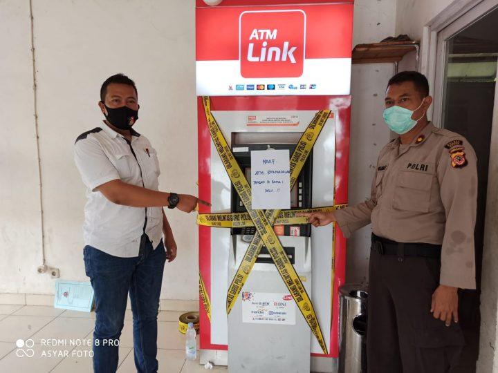 Polsek Cileungsi Berhasil Tangkap Tangan Pelaku Ganjal ATM