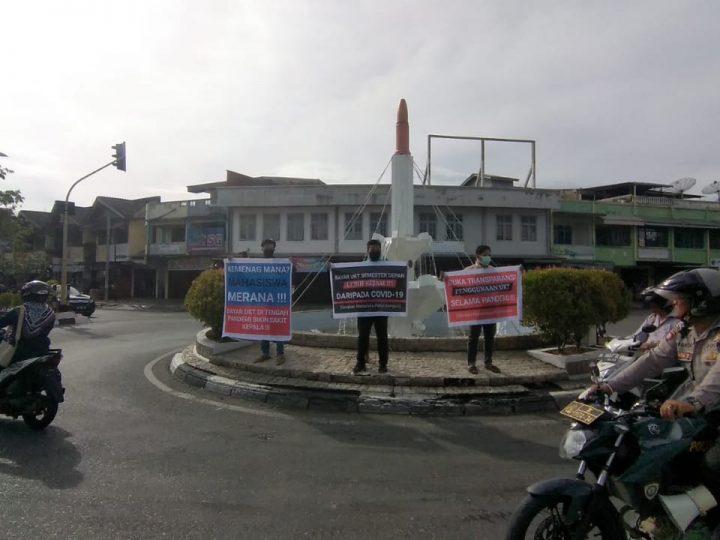 Gerakan Mahasiswa Peduli Kampus Gelar Demo di DPRK