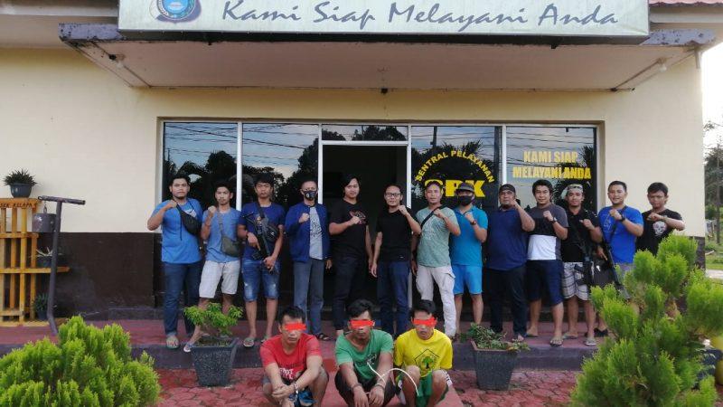 Tim Gabungan Sat Reskrim Polres Bangka Barat Dan Polsek Kelapa Meringkus Pelaku Curat Di Tempat Berbeda