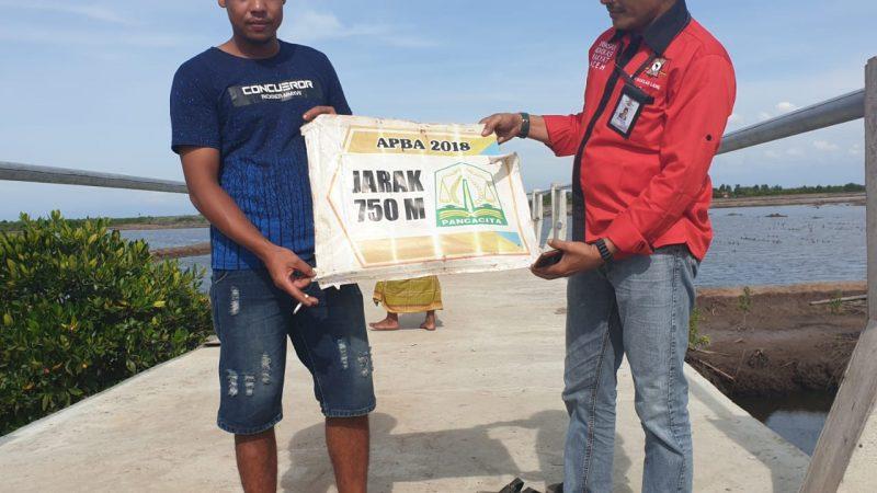 YARA Perwakilan Langsa: Proyek Jembatan Gampong Ilah Daya Diduga Belum Selesai Dikerjakan Sudah Ditinggalan Kontraktor