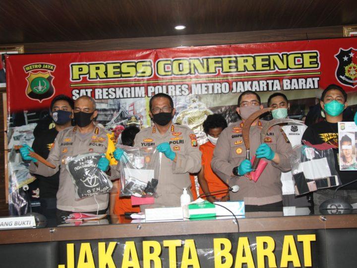 Kelompok Perampok 'AKAP' Tidak Berkutik Ketika Sat Reskrim Polres Metro Jakarta Barat  Melakukan Pengejaran