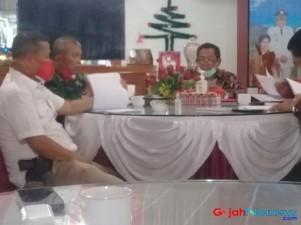 "Tim Gugus Covid-19 Kab Samosir Gelar Rapat Koordinasi ""New Normal"""