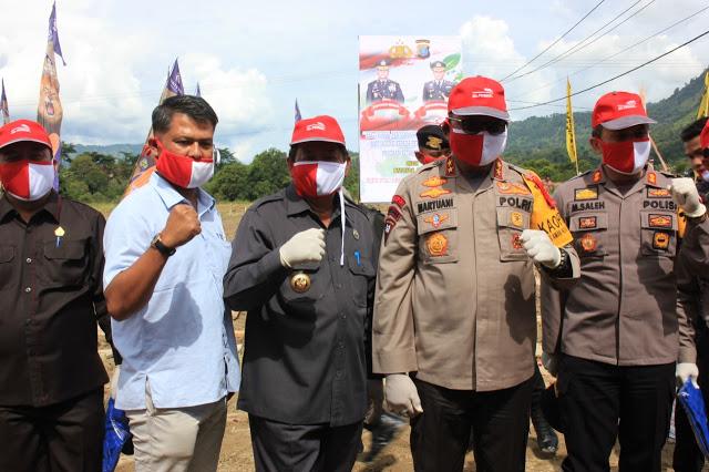 Ketua DPRD Samosir, Apresiasi Kapoldasu Bagikan Bibit Jagung dan Bakti Sosial