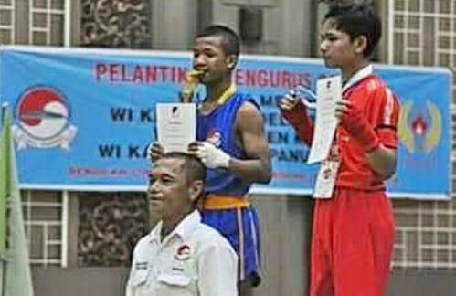 Kab Samosir, Antar Jupinten Sinaga Menuju Atlet Nasional
