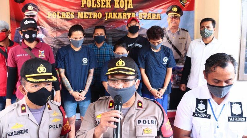 Tiga Orang Tersangka Kasus Perdagangan Tujuh Anak Dibawah Umur Ditangkap