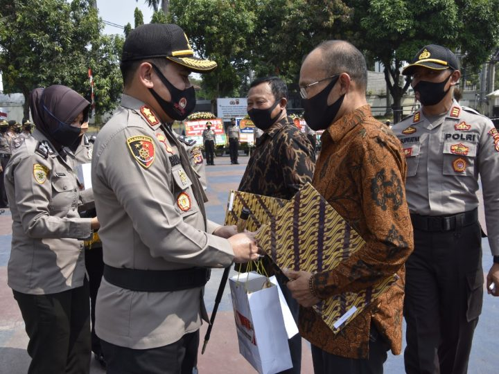 Sebanyak 94 Personil Polres Bogor Naik Pangkat di HUT Bhayangkara ke-74