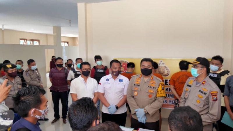 Mantap, Polsek Patumbak Tembak Bandar Narkoba Asal Riau