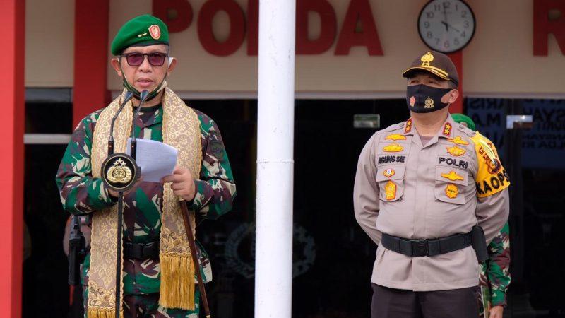 Panglima Kodam I Bukit Barisan Kunjungi Kapolda Riau