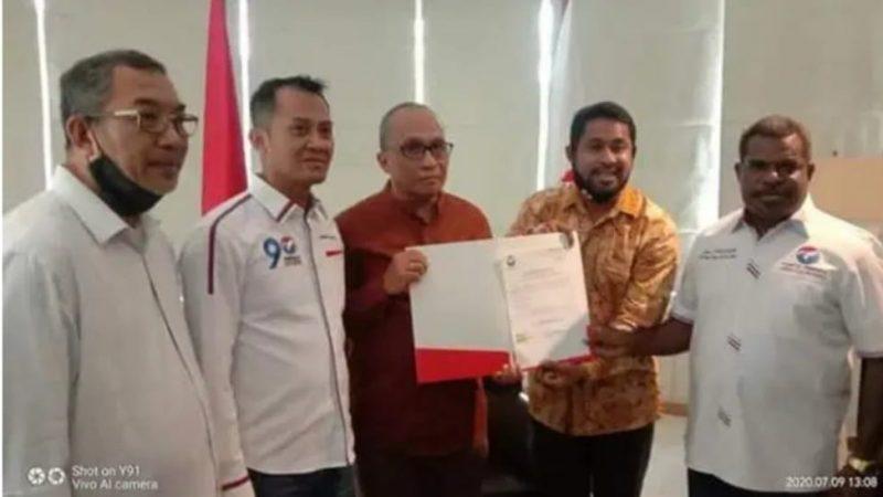 Pasangan Ali Ibrahim Bauw, SE MSP dan Yohanis Manibuy Mendapat Dukungan Dari DPP PERINDO