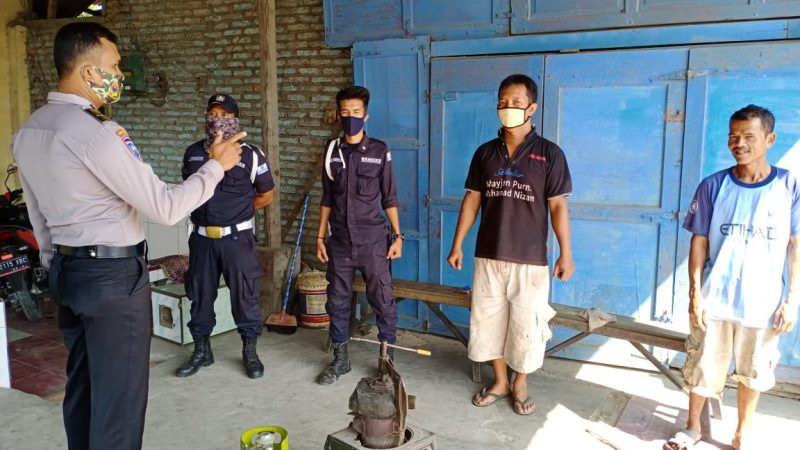 Sat Binmas Polres Sergai Sosialisasi AKB Kepada Masyarakat
