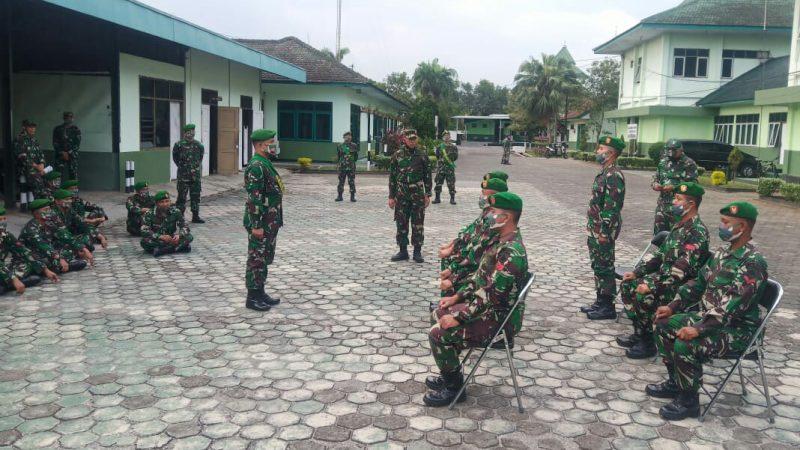 Tim Waslakgiat Permildas Kodiklat TNI AD Kunjungi Korem 071/Wijayakusuma