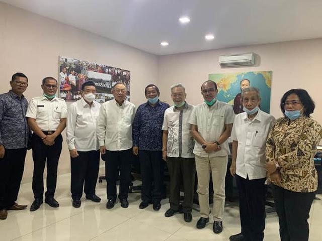 Ketua DPRD Samosir, Apresiasi Rencana Ever Prompt Travel Service Bangun STBA