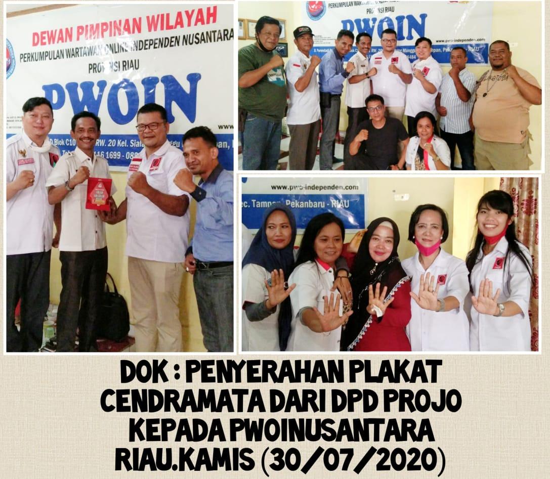 Membangun Negeri Lancang Kuning, Ini yang Dilakukan PWOINusantara Bersama DPD PROJO Riau
