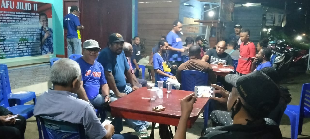 Jalin Silahturahmi, M1R DPW R4 Kunjungan Ke Sekretariat Tim Kosuara Faris-Ori