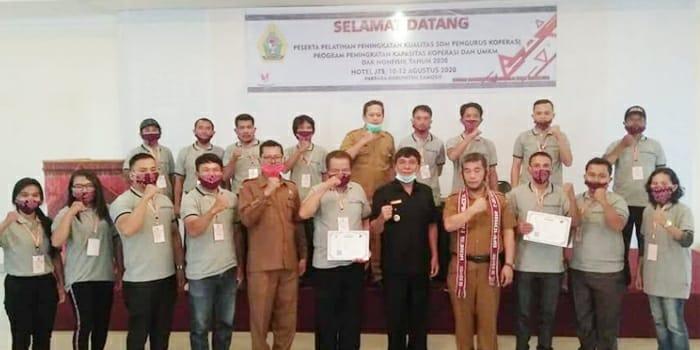 Wakil Bupati Samosir, Pelatihan Pengurus Koperasi Sebagai Ajang Meraih Kesusesan