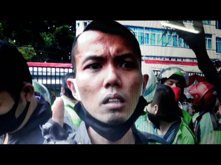 Saat Aksi Unras di Kantor DPRD Medan, Seorang Driver Ojol Mengaku Ada Oknum Aplikator Menjumpai Salah Satu Anggota DPRD Medan Untuk Gagalkan Aksi