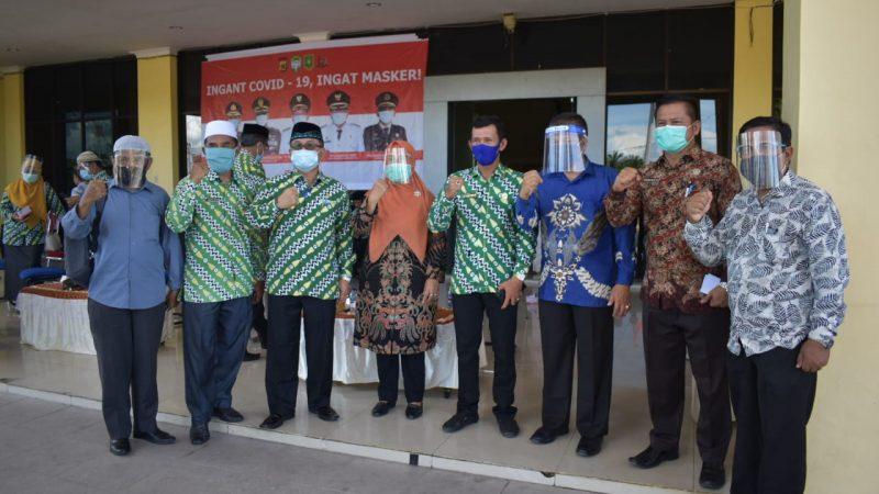 Tim Gebrak Aceh Bagikan Masker Di 5 Kecamatan Kota Subulussalam Besok