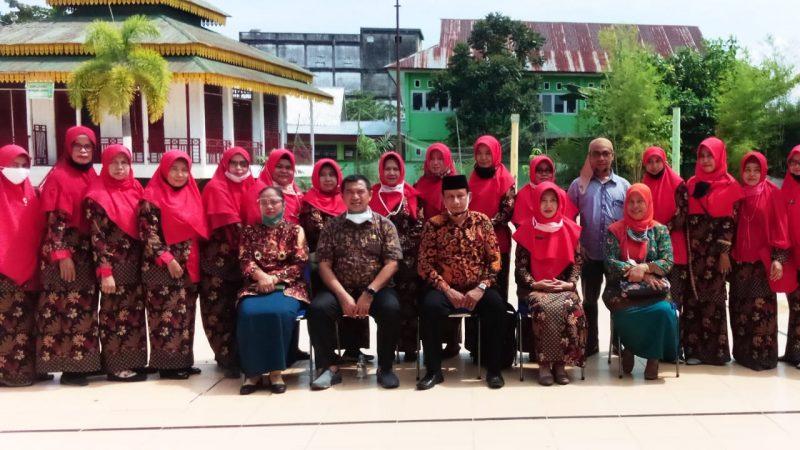 Tinjau Sistem Belajar, Kadis PDK H.Nurhidayat, SH.,MH Berkunjung ke SMPN 1 Bangko