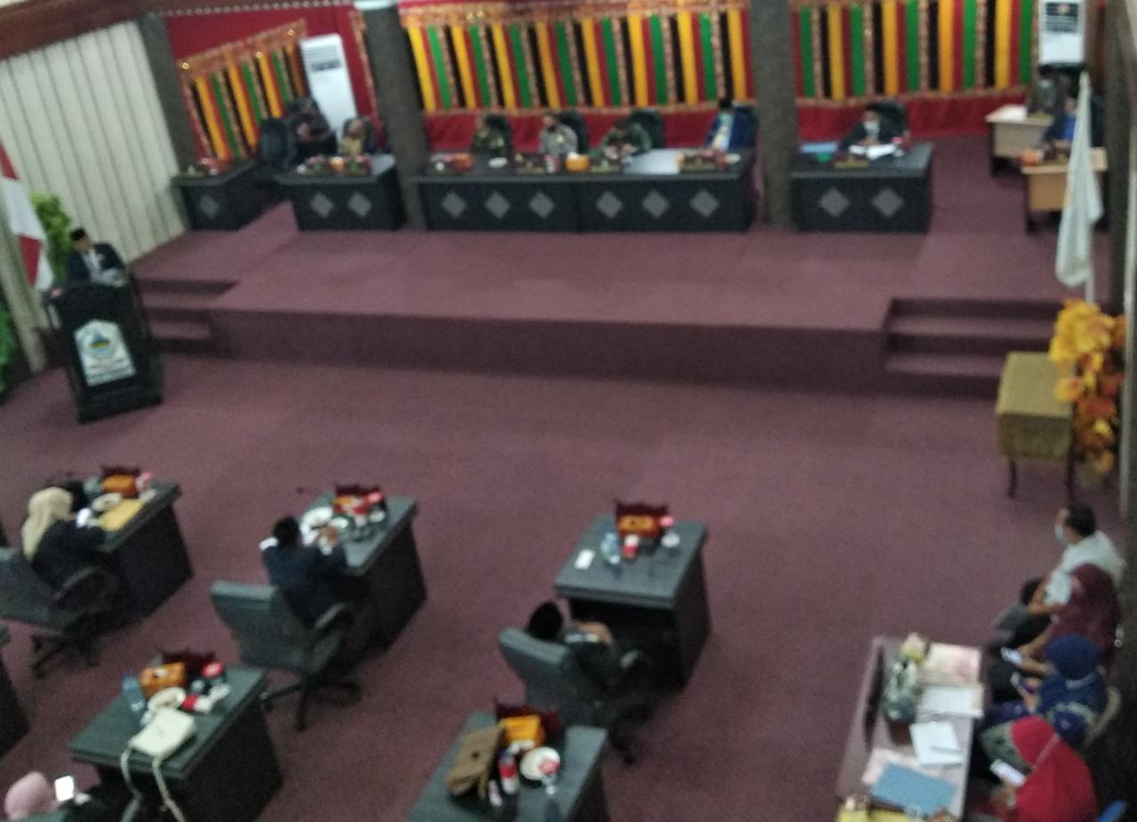 Fraksi Dewan, Predikat WTP Dapat Dijadikan Tantangan Kedepan