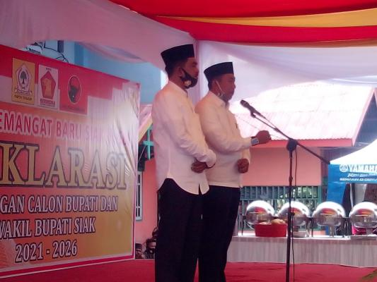 Mantab, Pasangan Arif Fadillah Sujarwo Dihadiri Simpatisan