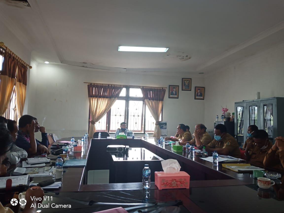 Komisi III DPRD Samosir Raker Bersama Bappeda, Dinas LH, Dinas PUPR dan Dinas Perkim