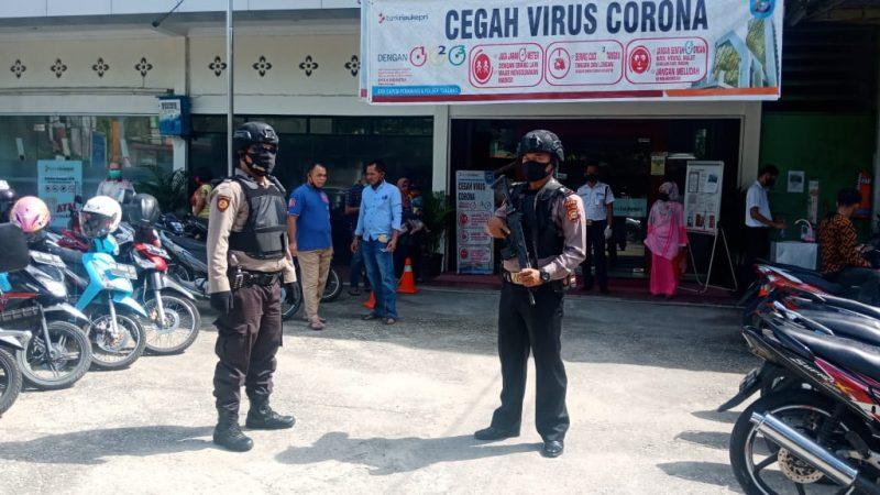 Personil Sabhara Polsek Tualang Gelar Patroli Antisipasi C3