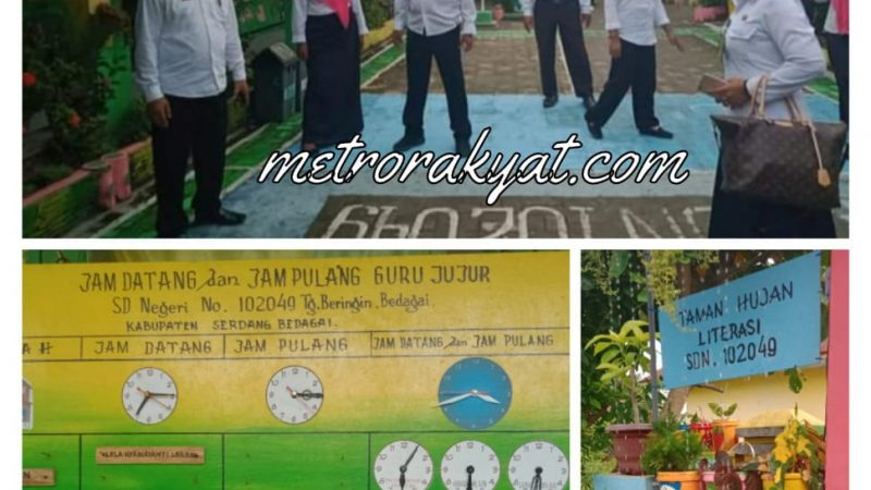 Tim Penilaian Inovasi Sekolah Sergai Tinjau 3 SD Inovasi Kecamatan Tanjung Beringin