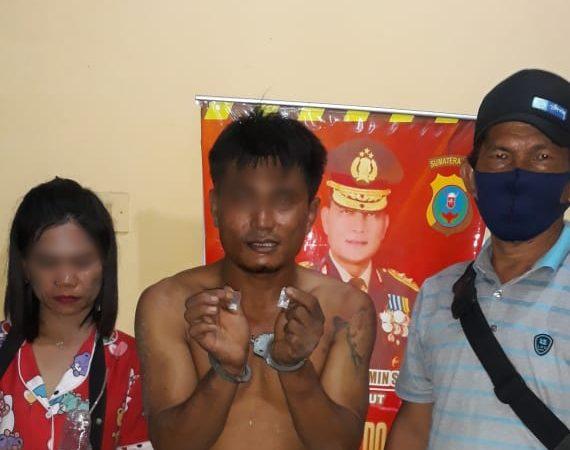 Lagi Pesta Sabu Bersama Janda, Tersangka Curas Diciduk Polisi