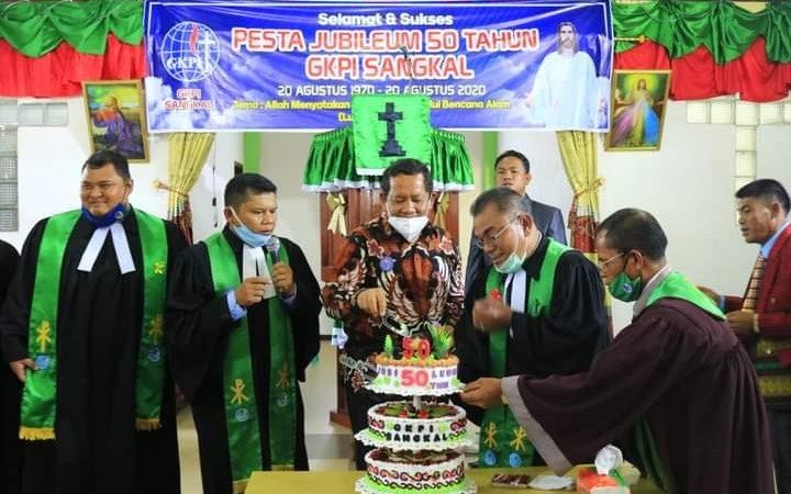 GKPI Sangkal Gelar Pesta Jubileum 50 Tahun