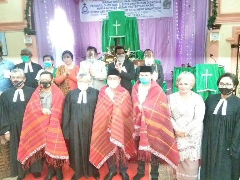 HKBP Lakukan Penahbisan Pendeta Gelombang Pertama di Sergai