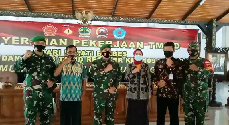 Danrem 071 Wijayakusuma : TMMD Bantuan ke Pemda Akselerasi Kesejahteraan Masyarakat