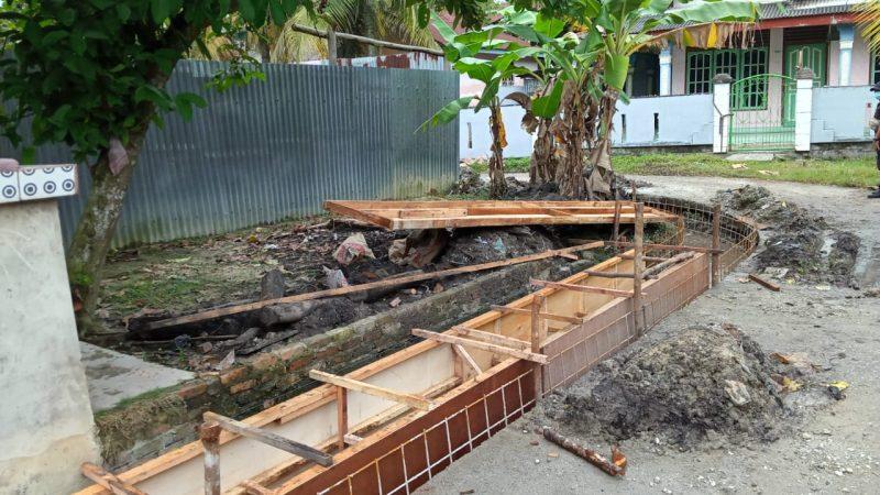Gawat Proyek Kelurahan Perawang Tak Punya Plang, Diduga Praktik KKN