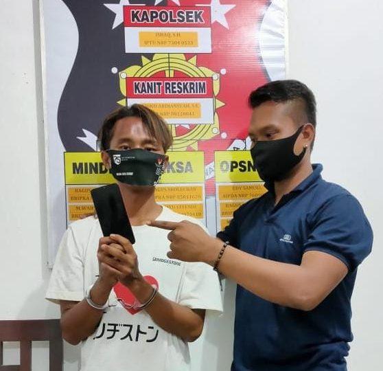 Polsek Sebulu Amankan Pria Penyebar Foto Asusila di Medsos
