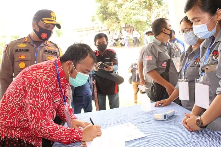 DPRD Samosir, Ajak Masyarakat Ikuti Prokes di Masa Kampanye