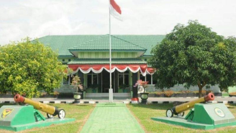 Danrem Pimpin Upacara Pdht Prajurit Korem 045/Gaya Jaya